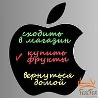 Магнітна дошка для крейди Apple 40*43 см