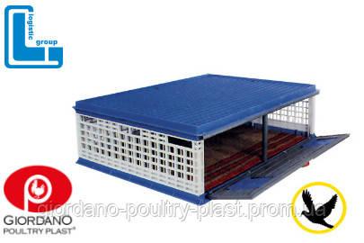 Ящик для перевозки голубей 1000х750х300 мм с распашной дверкой