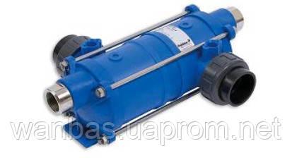 Теплообменник  HT40 135kBtu/h 40kW, Hi-Temp: пластик.корпус, нержавеющая спираль (ТМ Pahlen, Швеция)