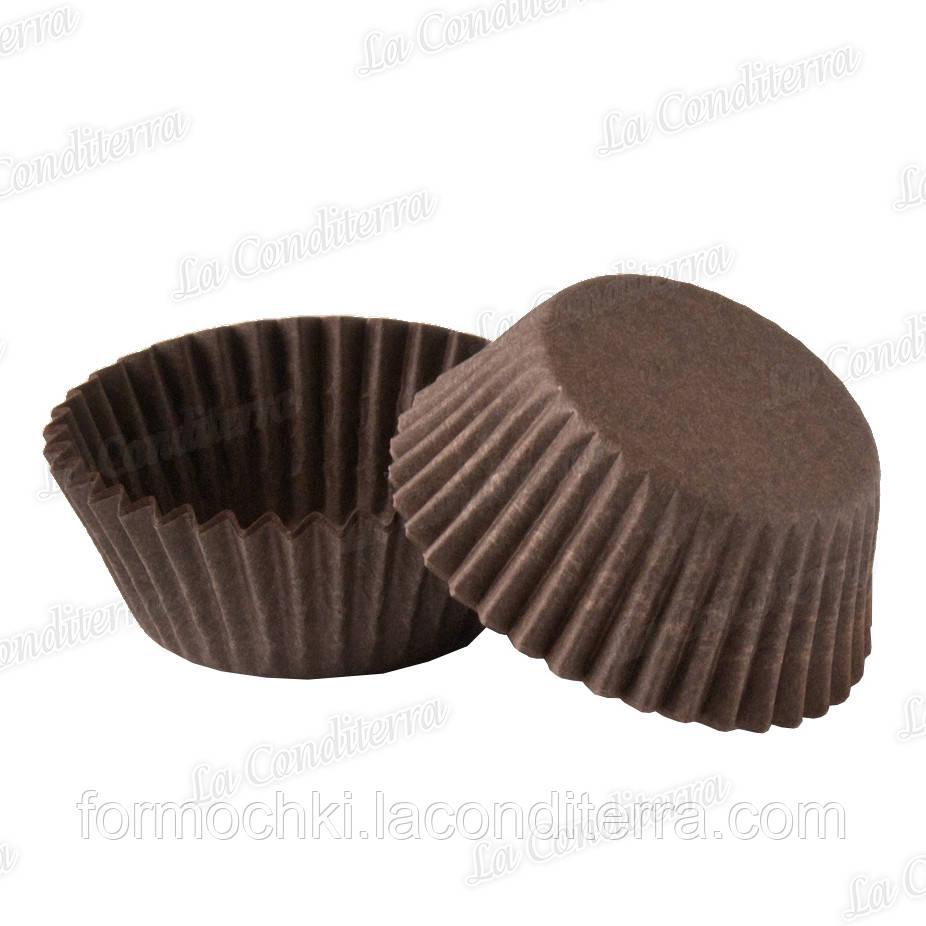 Форми для цукерок коричневі 5а (Ø40, бортик – 21 мм), 2000 шт.