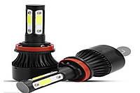 Автомобильные лампы LED F7 H4 | Автолампы | Светодиодные лампы для фар