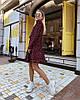 Платье, ткань: софт ( хлопок с вискозой).  Размер:С(42-44)М(44-46). Разные цвета (6355), фото 4