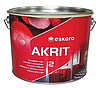 Eskaro Akrit 12  Интерьерная стойкая к мытью краска (полуматовая) (2,85 л)