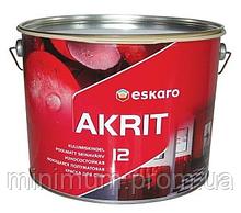 Eskaro Akrit 12 Акрилова стійка до миття фарба (напівматова) (2,85 л)