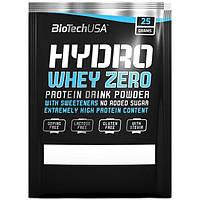 Пробник, сывороточный протеин, Biotech Hydro Whey Zero, шоколад - лесной орех, 25 г