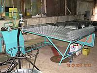 Станок для изготовления сетки рабицы, электро-механический