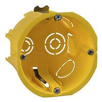 Коробка встраиваемая круглая IP30 65х45 гипсокартон SchneiderElectric IMT35150