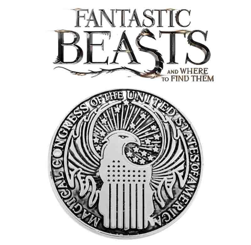 Значок Герб Макуса Фантастические звери: Преступления Гриндельвальда