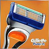 Gilette Fusion 8 шт. в упаковке, Германия, сменные кассеты для бритья, фото 6