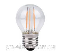 Світлодіодна LED лампа енергозберігаюча ZL14505274FT 5w 4000k E27 Filament Z-Light