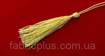 Кисточки - мини для декора  75-85 мм кремовые