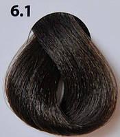 6.1 пепельный темный блондин, крем-краска для волос Lovin Color