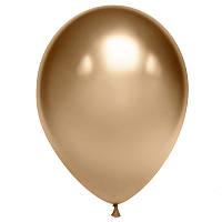 Воздушные шары Gemar хром Золото, 13' (32 см) 10 шт
