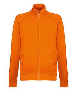 Мужская кофта на молнии S, 44 Оранжевый