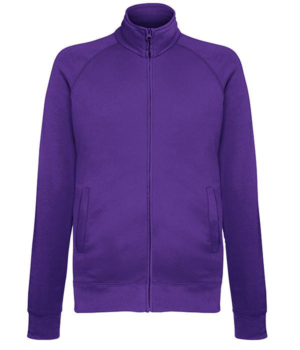 Мужская кофта на молнии S, PE Фиолетовый