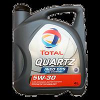Масло моторное Total 5w30 Quartz INEO ECS 4L Peugeot/Citroen