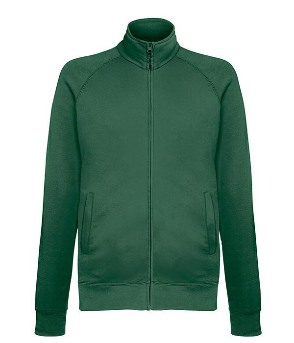 Мужская кофта на молнии L, 38 Темно-Зеленый