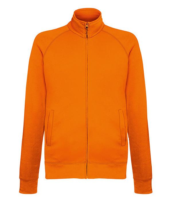 Мужская кофта на молнии 2XL, 44 Оранжевый