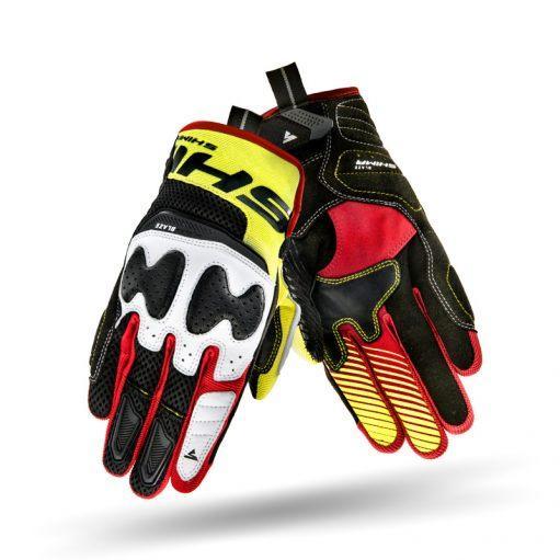 Мотоперчатки Shima Blaze Yellow Red