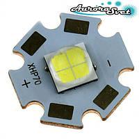 Светодиод CREE XHP 70 на алюминиевой плате. Самый мощный светодиод в мире!