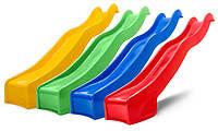 Горка детская пластиковая 3 м Hapro (Нидерланды) Зеленая, фото 1