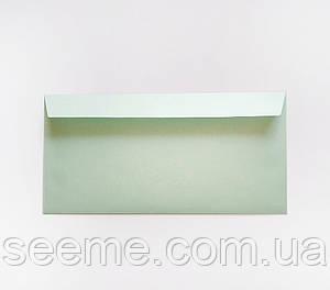 Конверт 220x110 мм, цвет морозная мята (cool mint)