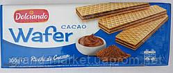 Вафлі Dolciando cacao 300г