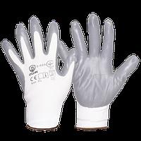 Перчатки п/э с нитриловым покрытием