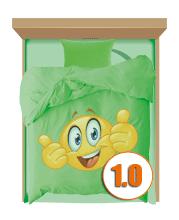 Комплекты полуторные с детским рисунком для подростков(1,0)