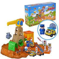 Игровой набор Гараж Joy Toy Авто сити стройка