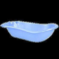 Детская ванночка с термометром Голубой перламутр 18-123074-9, КОД: 354734