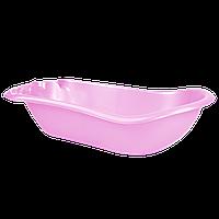 Детская ванночка с термометром Розовый перламутр 18-123074-3, КОД: 354720
