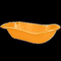 Детская ванночка с термометром Светло-оранжевая 18-123074-4, КОД: 354717