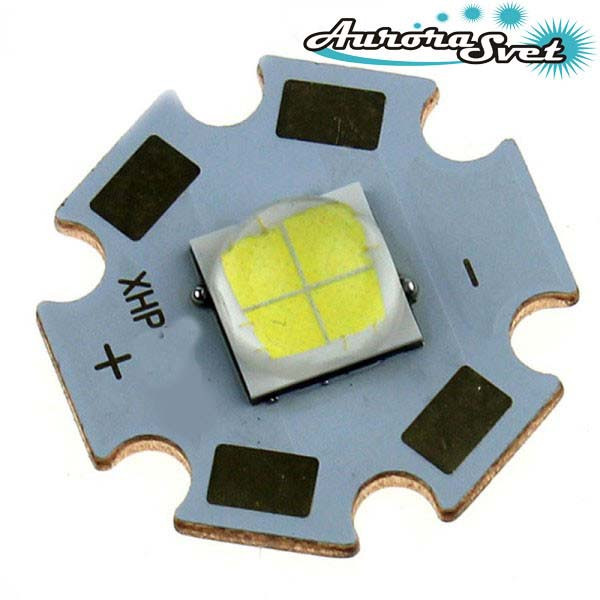 Светодиод Cree XHP35. LED матрица. Светодиодная матрица.