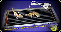 Электрический коврик-сушилка 80х25 (обогреватель для террариума, аквариума, подогрев для цветов) 40Вт
