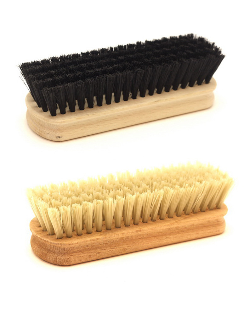 Щетка с деревянной колодкой, для чистки обуви и одежды 140мм от ящика