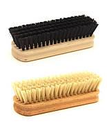 Щетка с деревянной колодкой, для чистки обуви и одежды 140мм от ящика, фото 1