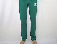 Спортивные штаны ADIDAS зелёные