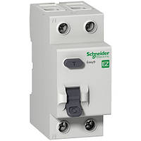 """Дифференциальный выключатель (УЗО) Easy9 2p, 40А, 300мА, тип """"АС"""""""