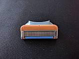 Gilette Fusion 8 шт. в упаковке, Германия, сменные кассеты для бритья, фото 9