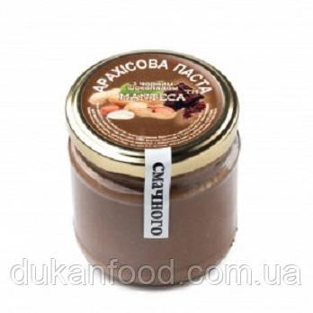 Паста арахисовая с черным шоколадом, 180г