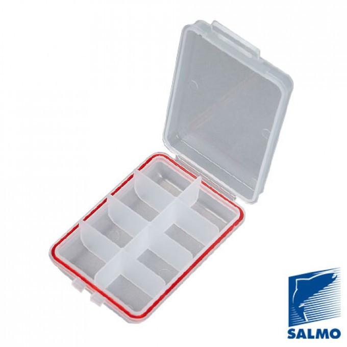 Коробка рыболов. пласт. Salmo WATERPROOF  105х66х25 (1501-02)