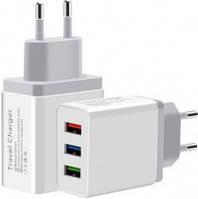 Сетевое зарядное устройство XoKo WC-310 3A USB White