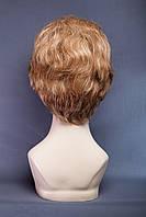 Натуральный парик №1, цвет мелирование светло-русый с белым