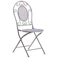 Металлический стул Мерибель металл, винтаж грей