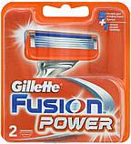 Gilette Fusion Power ПОШТУЧНО, Германия, сменные кассеты для бритья, фото 2
