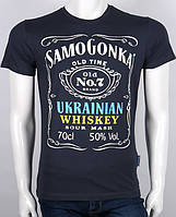 "Футболка ""Samogonka"" (темно-сіра)"