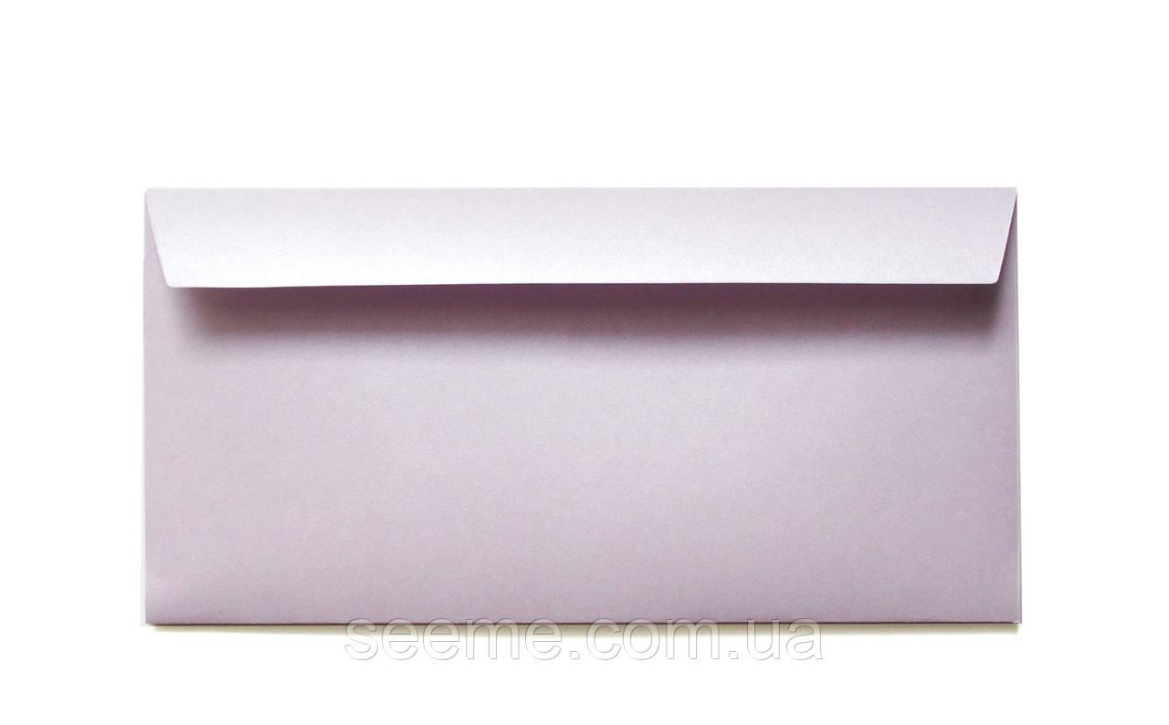 Конверт 220x110 мм, цвет светло-лавандовый (soft lavender)