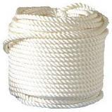 Верёвка (канат) лавсановая д.6 мм-600кгс якорная, лодочная, фото 4