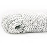 Верёвка (канат) лавсановая д.6 мм-600кгс якорная, лодочная, фото 5